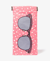 Forever 21 Polka Dot Sunglasses Case