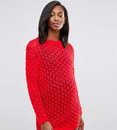 Asos Jumper In Mesh Stitch
