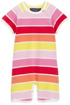 Toobydoo Sun Stripe Shortie Jumpsuit (Baby Boys)