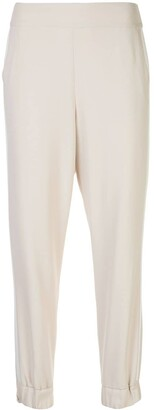 Alice + Olivia Pete tapered track trousers