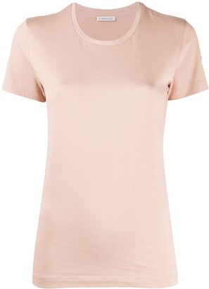 Moncler logo patch detail T-shirt