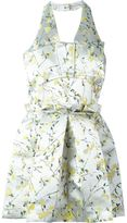 Alexander McQueen floral mini dress - women - Silk/Polyester - 40