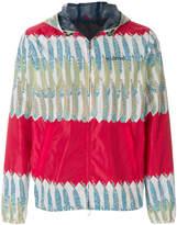 Valentino patterned zipped jacket