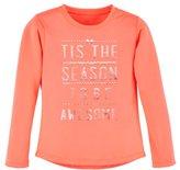 Under Armour Girls' Toddler UA Tis The Season Long Sleeve