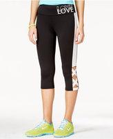Material Girl Juniors' Printed Leggings, Only at Macy's