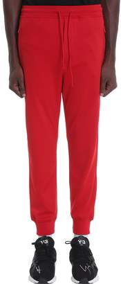 Y-3 Y 3 Pants In Red Polyester