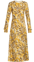 Marni Citrus Forest-print silk maxi dress