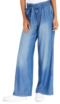 Rewash Juniors' Wide Leg Pants