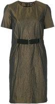 Jil Sander Navy belted dress