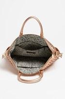 Rebecca Minkoff 'Bonnie' Woven Leather Satchel