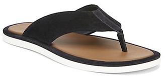 Vince Dean Suede Thong Sandals