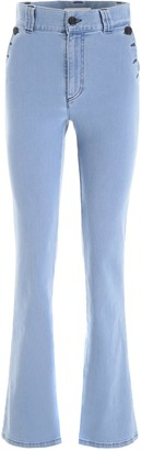 See by Chloe High-Waist Bootcut Jeans