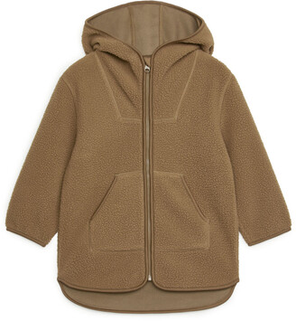 Arket Hooded Fleece Jacket