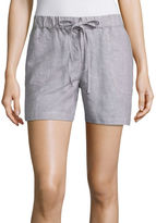 Liz Claiborne 5 Knit Pull-On Shorts