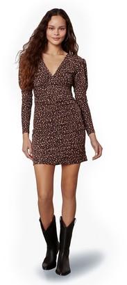 BB Dakota Animal Attitude Leopard Dress