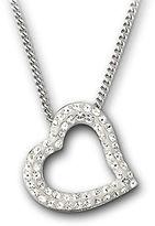Swarovski Mozart Crystal Heart Pendant Necklace