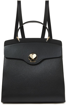 Kate Spade Romy Medium Smooth And Pebbled-leather Backpack