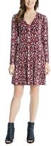 Karen Kane Ikat Print Dress