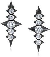 Noir Sirius Stud Earrings