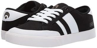 Osiris Kort VLC (Black/White) Men's Shoes