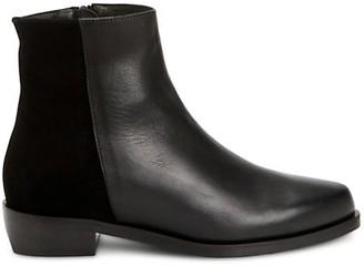 Aquatalia Gabriele Leather & Suede Ankle Boots
