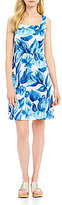 Tommy Bahama Painterly Petals Short Dress