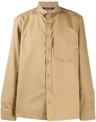 Neil Barrett Patch Pocket Buttoned Shirt