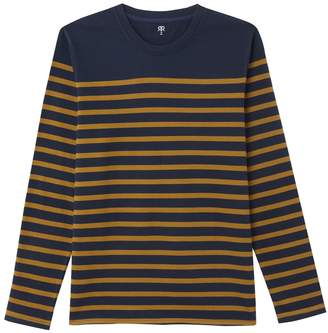La Redoute Collections Striped Long Sleeved T-Shirt