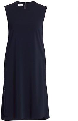 Akris Punto Side Button Tank Dress