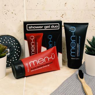 Menu men-u Shower Gel Duo (Worth 17.90)