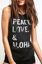 Spiritual Gangster Peace Love Aloha
