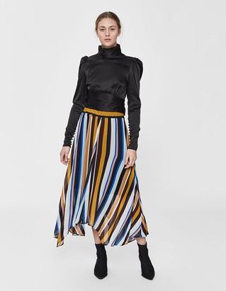 Just Female Women's Romain Striped Skirt, Size Small