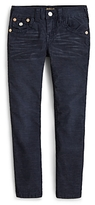 True Religion Boys' Geno Slim Fit Corduroy Pants - Little Kid, Big Kid
