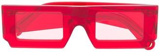 Jacquemus Rectangular Translucent Sunglasses