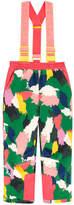 Stella McCartney Ski pants with removable braces - Powder