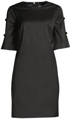 Trina Turk Bow-Detailed Shift Dress