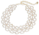 RJ Graziano Scalloped Choker Necklace