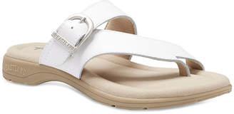 Eastland Womens Tahiti Slip-On Open Toe Flat Sandals