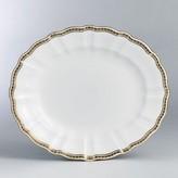 "Carlton Royal Crown Derby Gold"" Oval Platter, 15"""