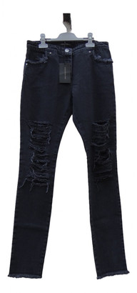 Christopher Kane Grey Cotton Jeans for Women