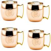 Old Dutch Monogram Moscow Mule Mugs (Set of 4)