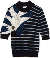 Sonia Rykiel Sandy Bouclette Intarsia Sweater