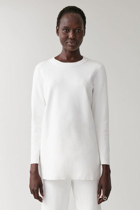 Cos Rib Neck Cotton Jumper