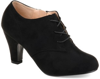 Journee Collection Leona Lace-Up Bootie