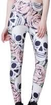 Sun High Quality Autumn/Spring Printed Leggings (skull)