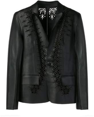 Haider Ackermann laser cut detail jacket
