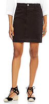 Intro Solid Hannah 4-Pocket Solid Sateen Skort