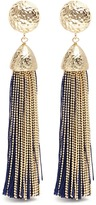 Rosantica Tassel clip earrings