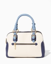 Charming charlie Colorblock In The City Satchel