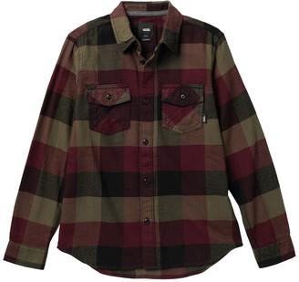 Vans Box Flannel Shirt (Big Boys)